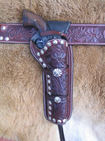 Specialty Saddles for Cowboy Mounted Shooting